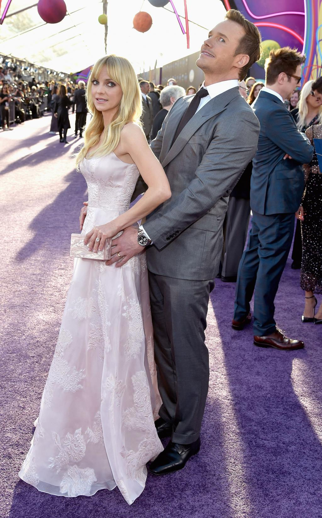Chris Pratt and Anna Faris Win Hammiest Couple at Guardians of the Galaxy Vol. 2 Premiere