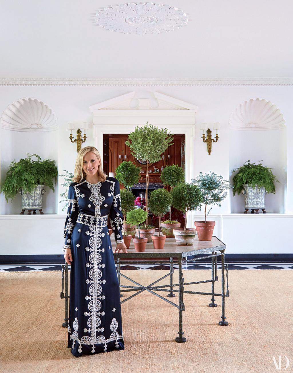 Tory Burch's Epic, 15,000-Square-Foot Summer House is One of the Biggest in the Hamptons: See Inside