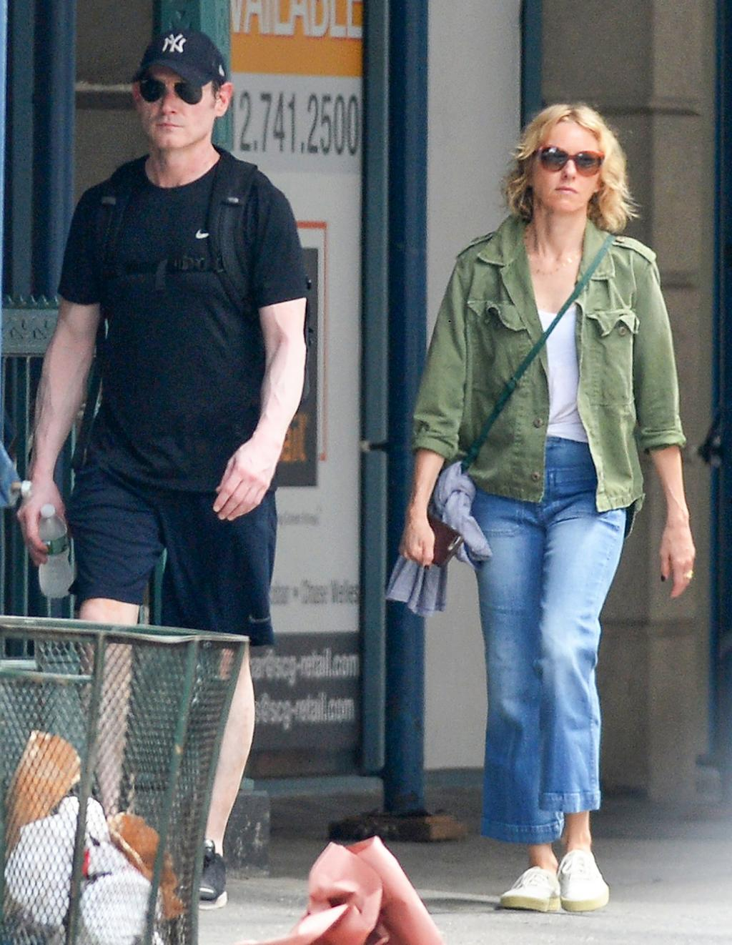 Naomi Watts Dating Her Gypsy Costar Billy Crudup As They Take a Stroll in New York City