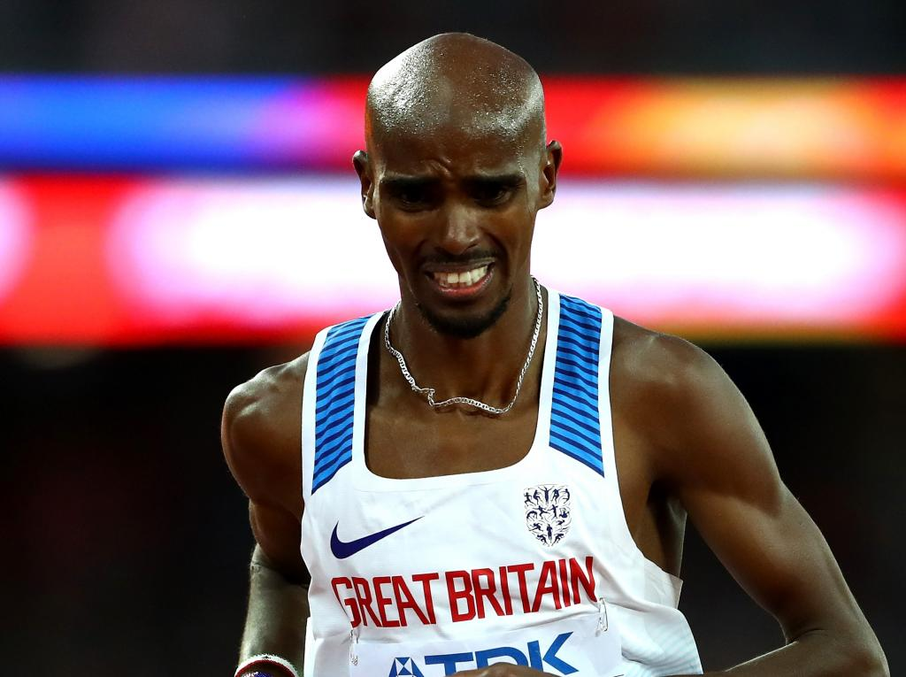 Sir Mo Farah wins 5,000m silver at World Championships in final major track appearance
