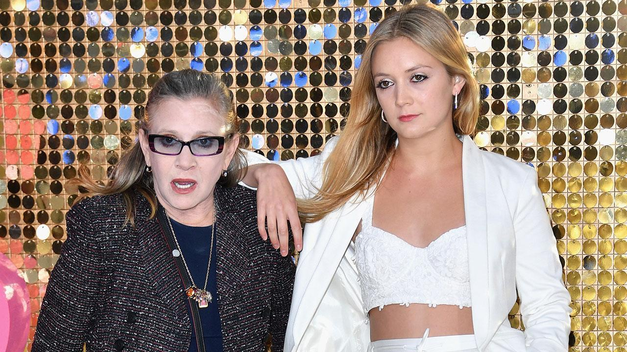 Billie Lourd Gets Matching Tattoo Paying Tribute to Mom Carrie Fisher on Her Birthday