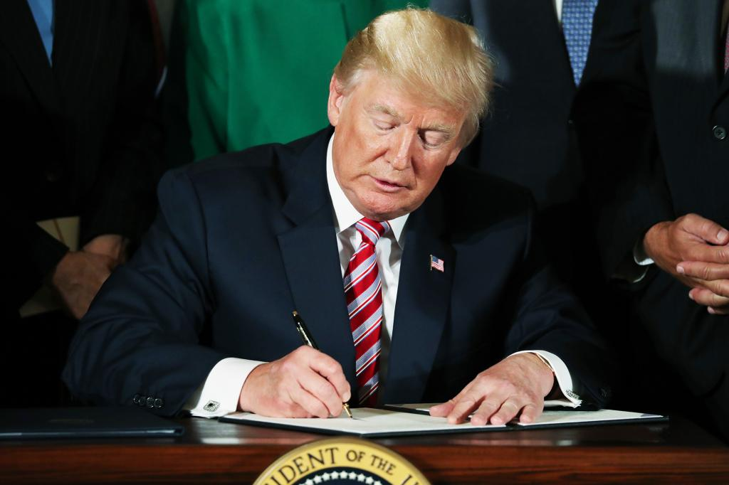 President Trump Just Held a Signing. He Had Nothing to Sign