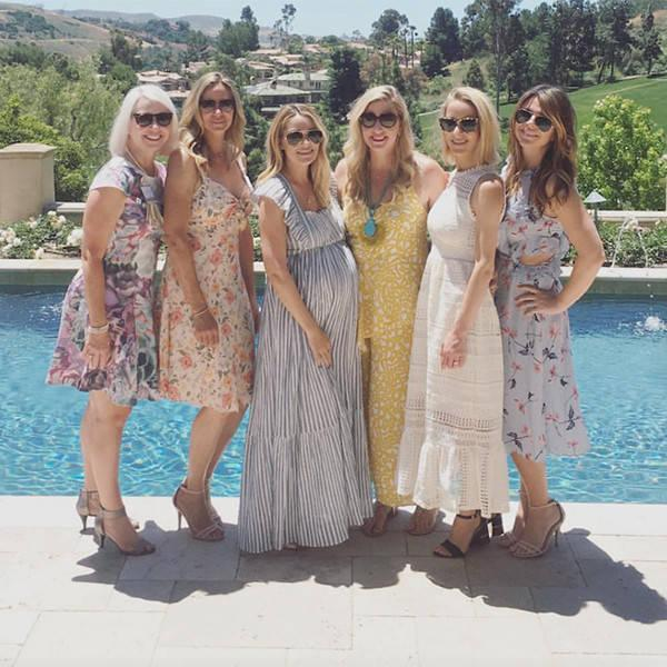 Lauren Conrad Celebrates Her Baby Shower Surrounded By Family and Friends
