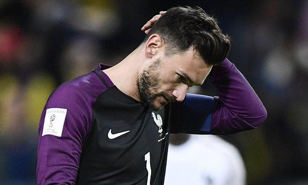 Sweden 2-1 France: Hugo Lloris costs Les Bleus with moment of madness