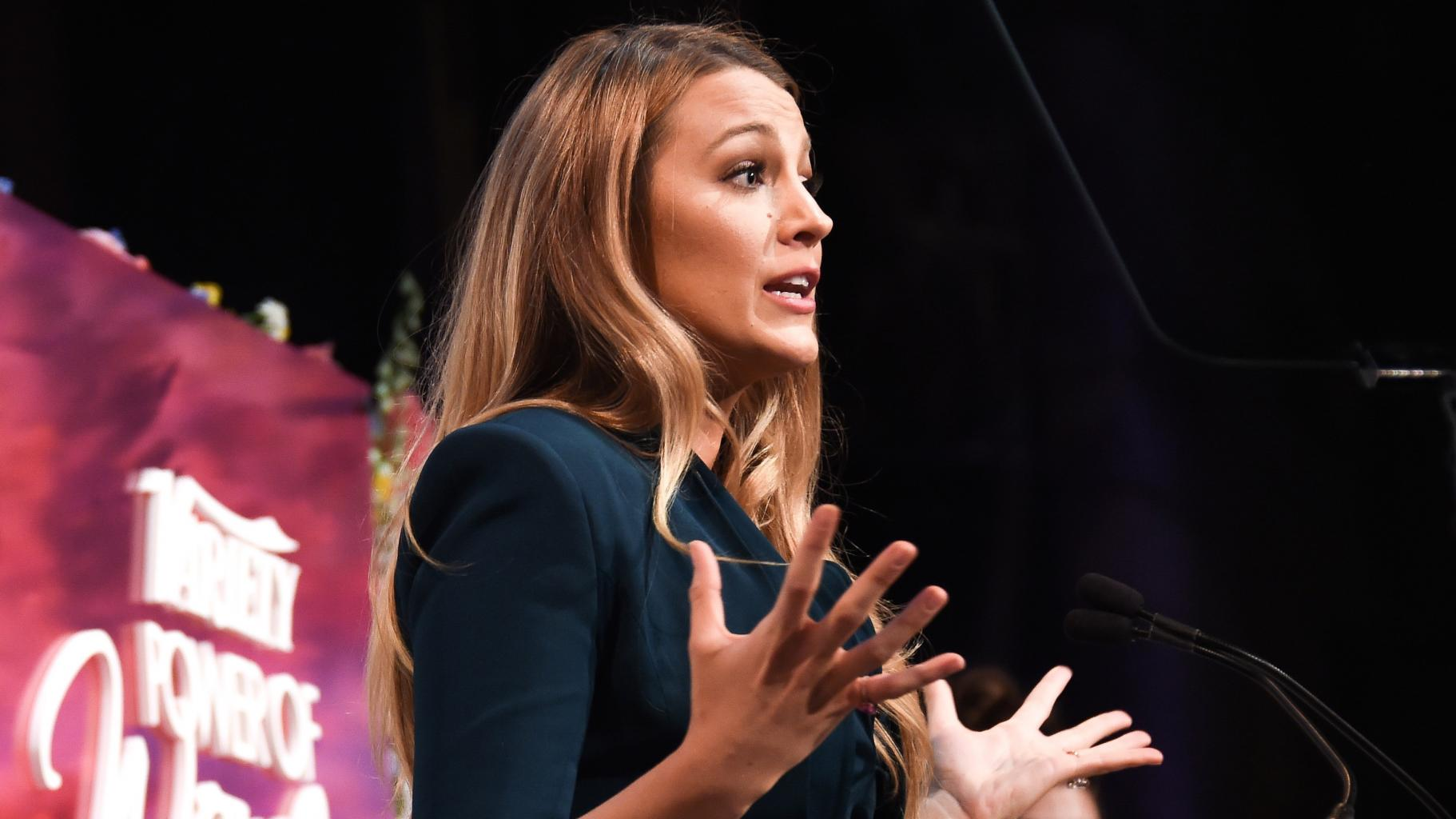 Blake Lively Tells Off Reporter for Asking About Fashion at Variety's Power of Women Event