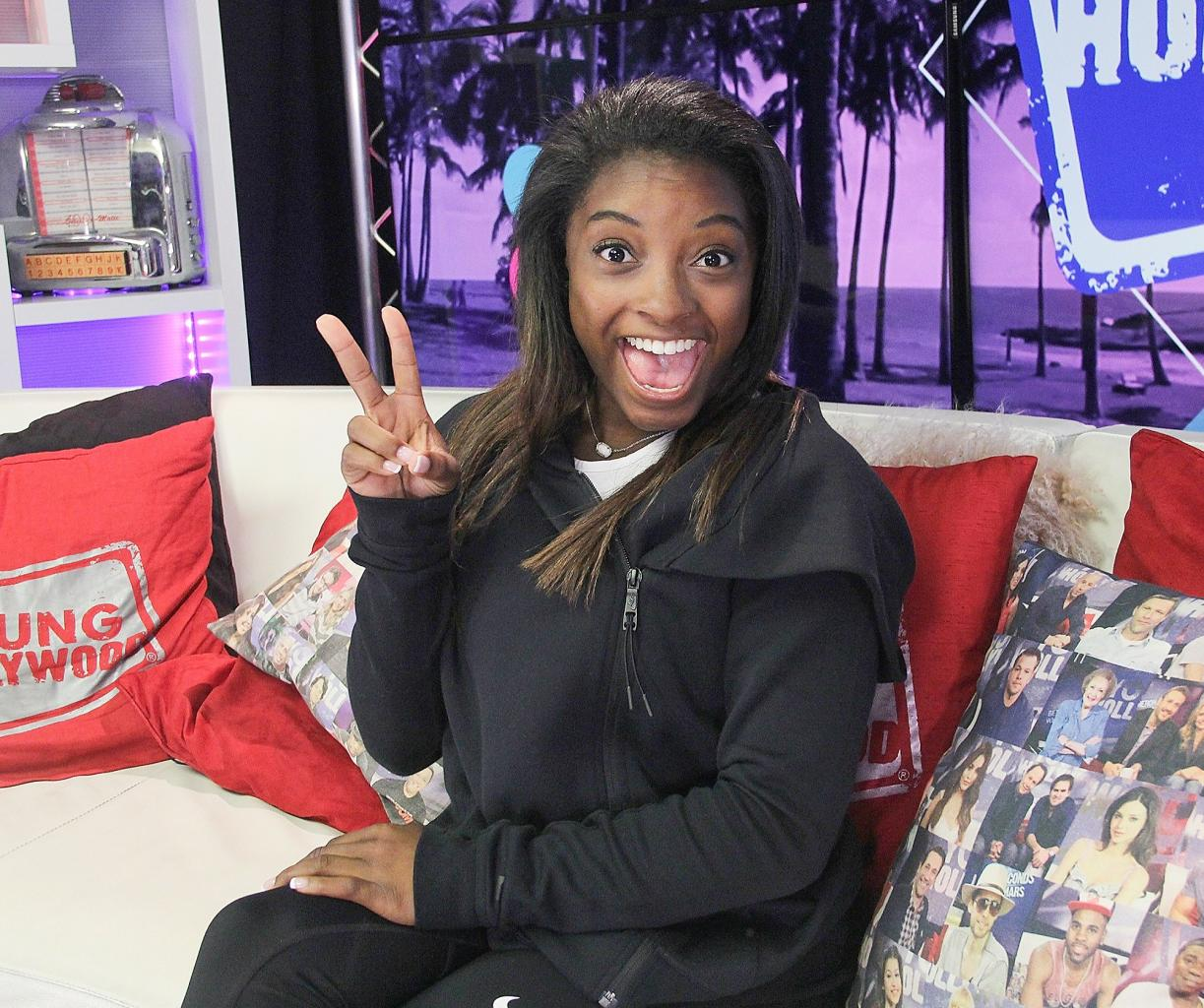 Simone Biles on Inspiring the 'Next Generation of Female Athletes' — and Getting Her Wisdom Teeth Removed!