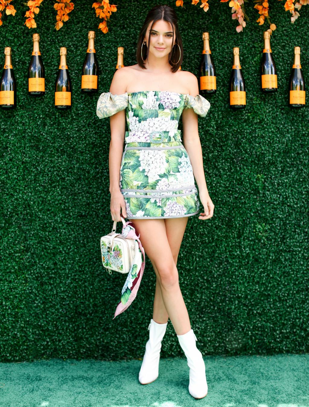 Kendall Jenner and Candice Huffine Channel Pretty Woman at the Veuve Clicquot Polo Classic