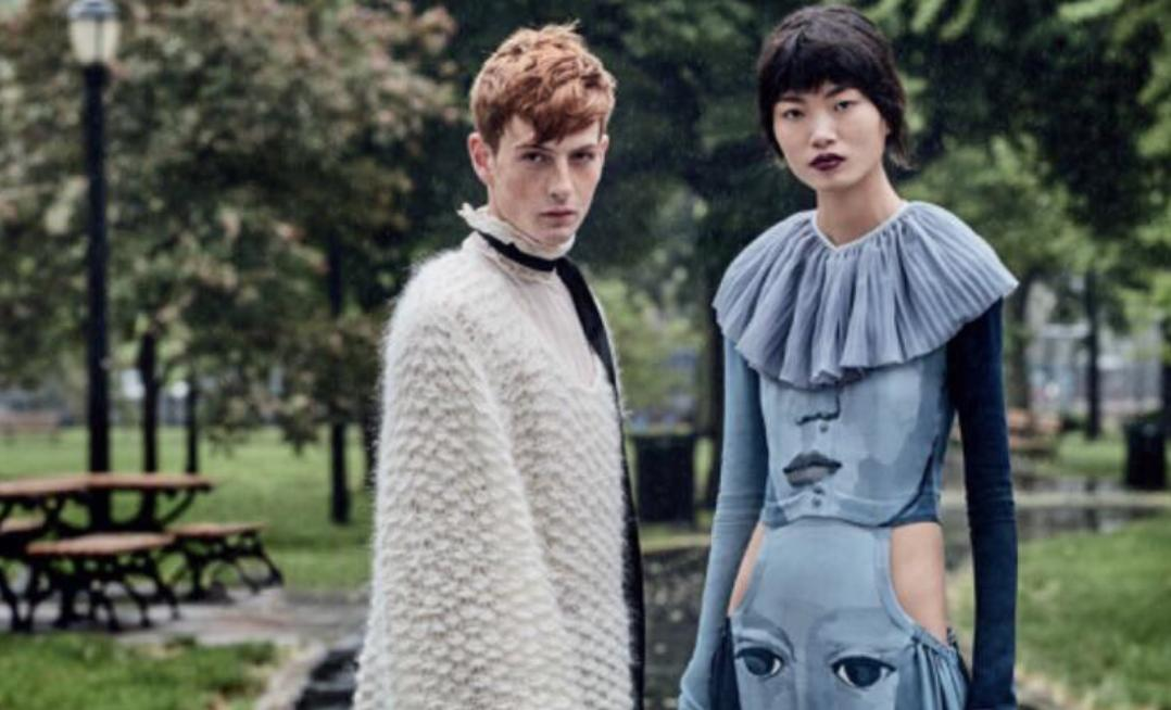 Lindsay Lohan  's Younger Brother Cody Models In    Vogue China  ': See His Glam Look!