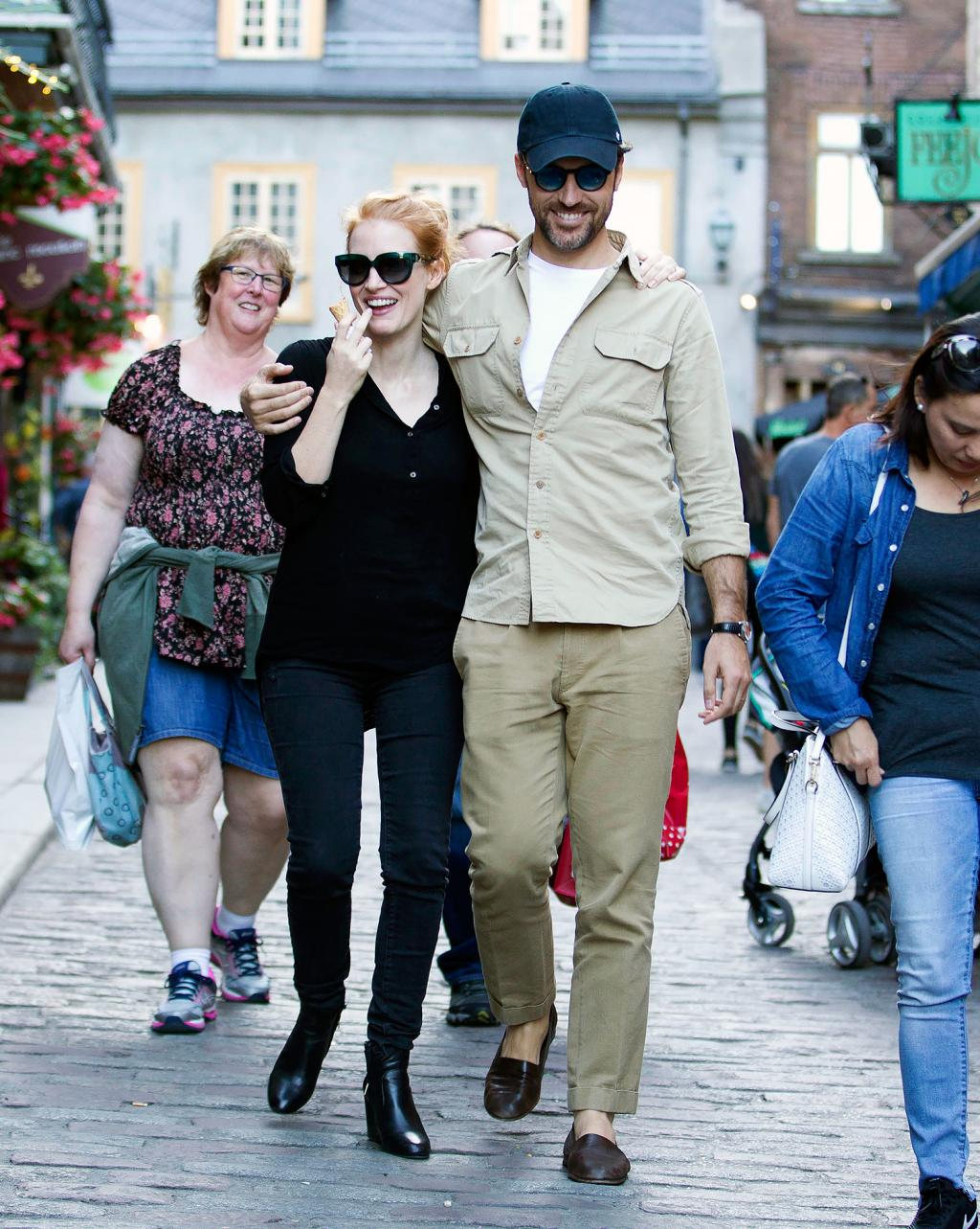 Newlywed Bliss! Jessica Chastain and Her Husband Look Happier than Ever in Quebec City
