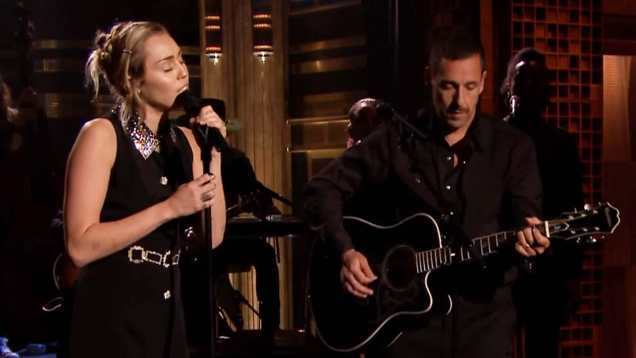 Miley Cyrus & Adam Sandler Open 'Tonight Show' With Tribute to Las Vegas Victims, Late Night Hosts Weigh In