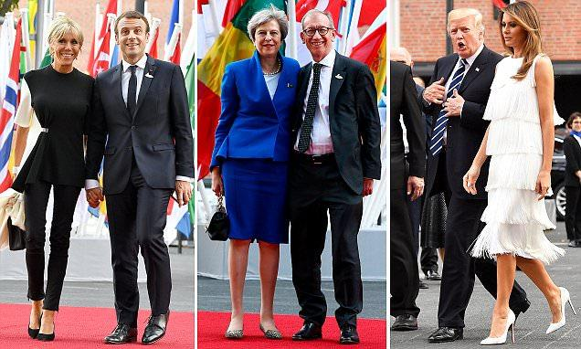 PM's husband Philip May lacks glamour of other G20 First Spouses
