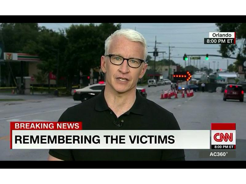 Anderson Cooper Breaks Down On Air While Naming Orlando Shooting Victims