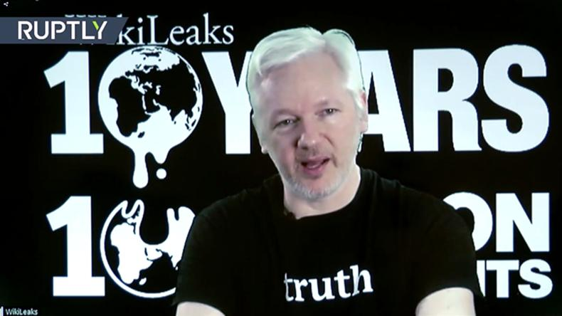 Assange: WikiLeaks will publish all US election docs by Nov. 8