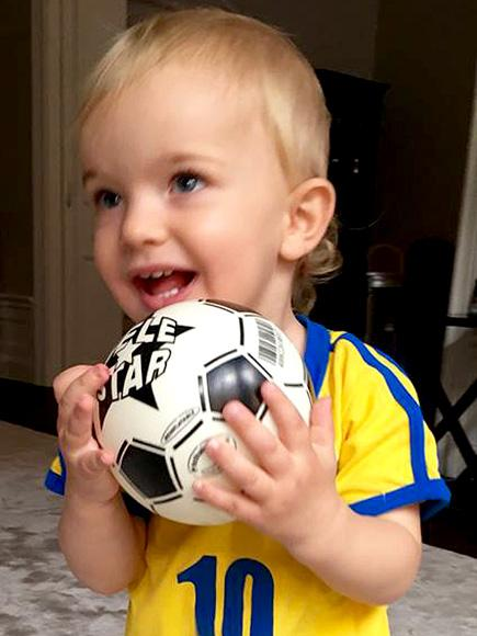 Baby Olympian! Prince Nicolas Adorably Supports the Home Team Ahead of Sweden's Gold Medal Soccer Game