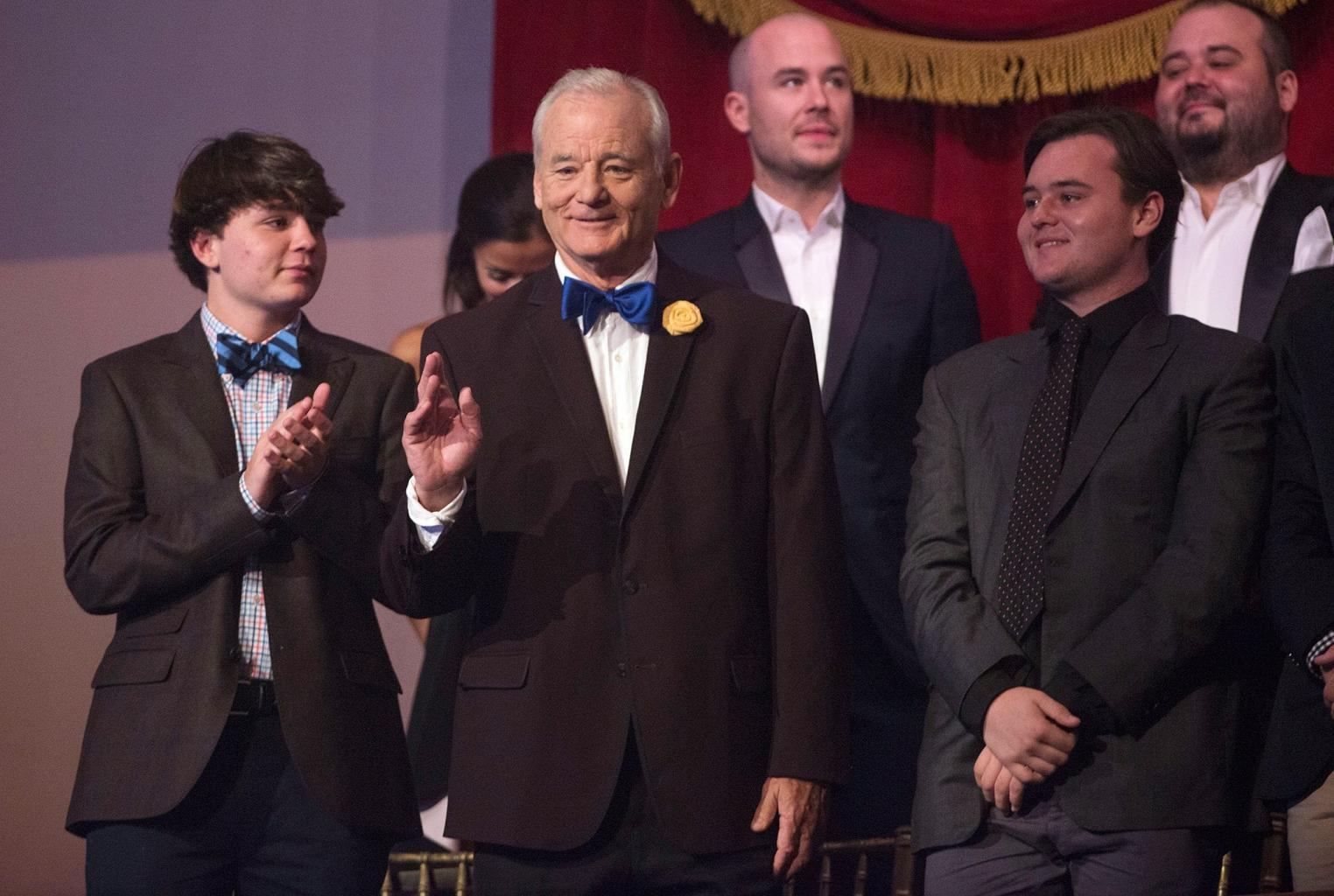 Bill Murray Celebrates Mark Twain Prize (and Chicago Cubs Win!): 'If They Hadn't Won Last Night I Would Have Had to Have Been There'