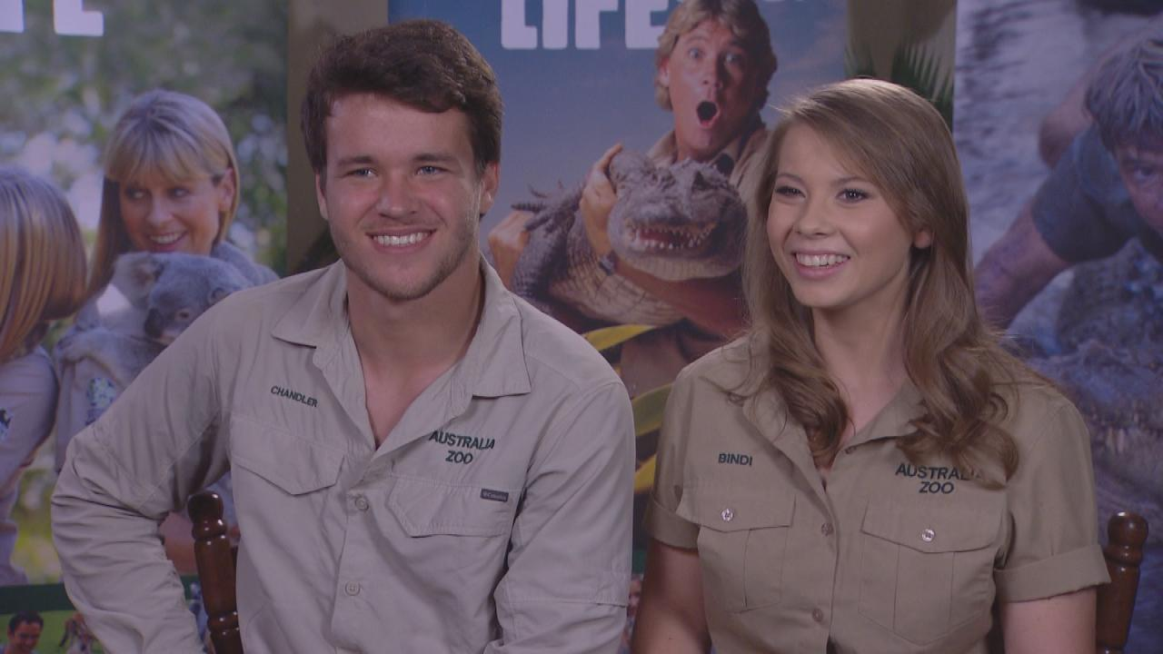 Bindi Irwin Celebrates Valentine  's Day With Boyfriend Chandler Powell: See the Sweet Pic!