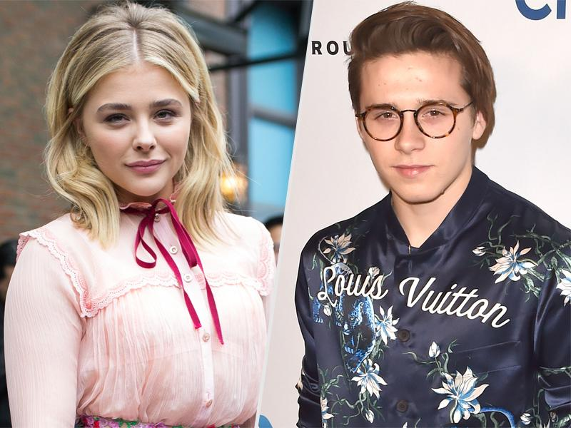 Brooklyn Beckham and Chlo  Grace Moretz Celebrate Making It Official with Adorably Cheesy Insta Photo