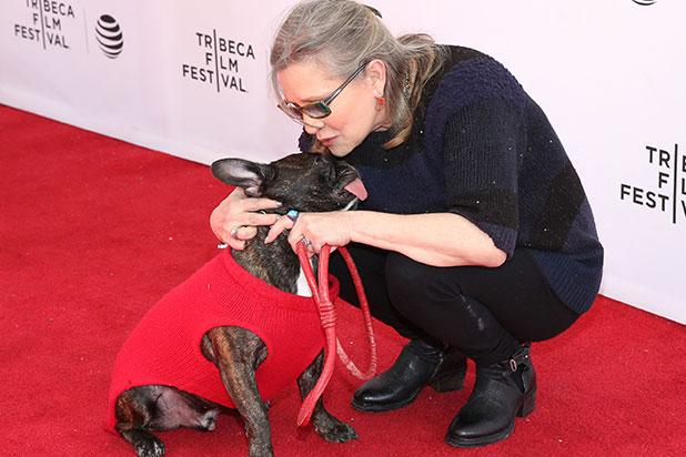Carrie Fisher  's Dog Gary Finds a New Home