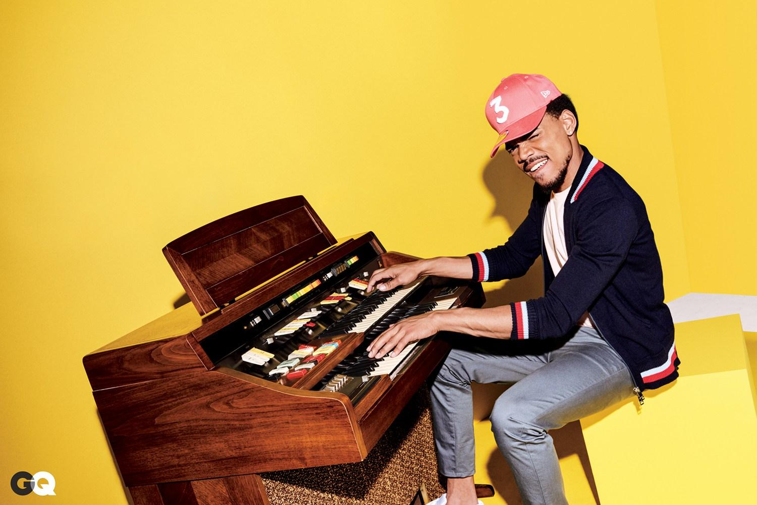 Chance the Rapper on His Musical Idol Kanye West:    That  's What a Rapper Is to Me