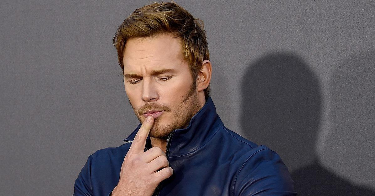 Chris Pratt Drops By the MTV Movie Awards in All His Handsom