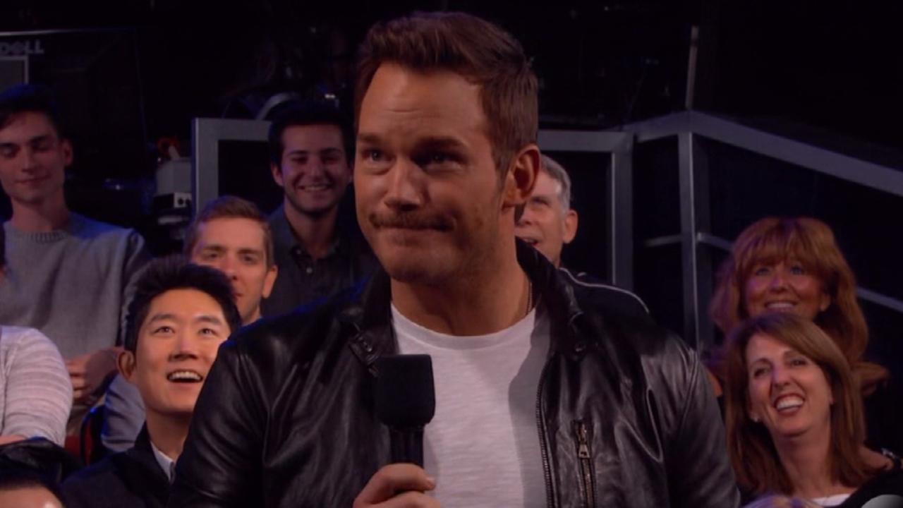 Chris Pratt Surprises Jimmy Kimmel's Audience, Debuts 'Guardians of the Galaxy Vol. 2' Trailer