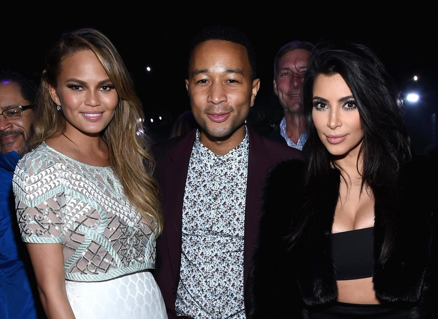 Chrissy Teigen and John Legend Share How Friend Kim Kardashian West  's    Horrific '  Robbery Changed Their Lives