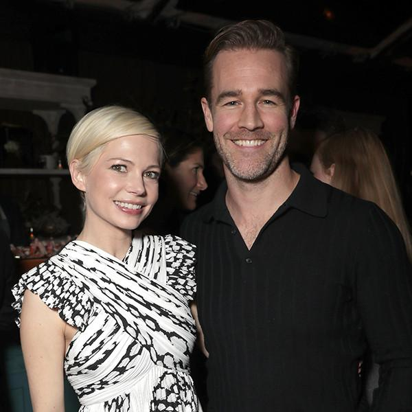 Dawson's Creek Co-Stars James Van Der Beek and Michelle Williams Reunite for the First Time in 13 Years