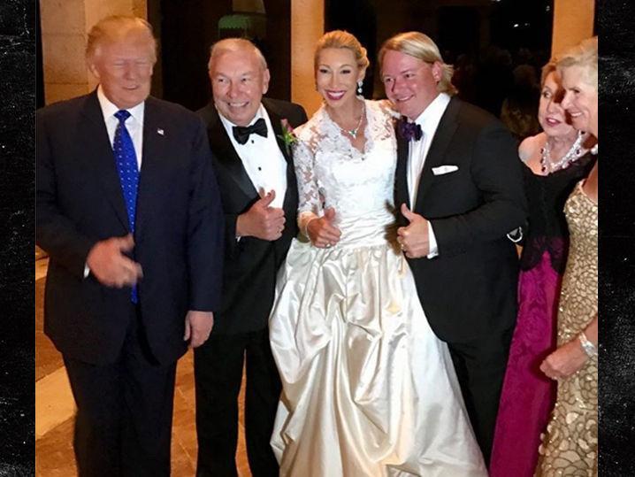 Donald Trump Did Not Crash Wedding After North Korea Statement (Photos)
