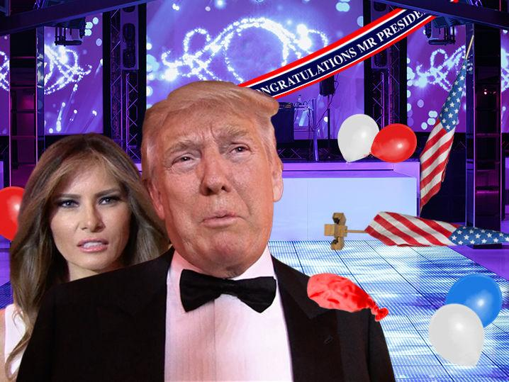 Donald Trump -- Nightclubs in Deep Freeze on Inauguration Day