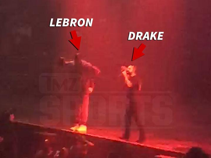 Drake -- Hey Cleveland, Give It Up for LeBron!!! (Video)
