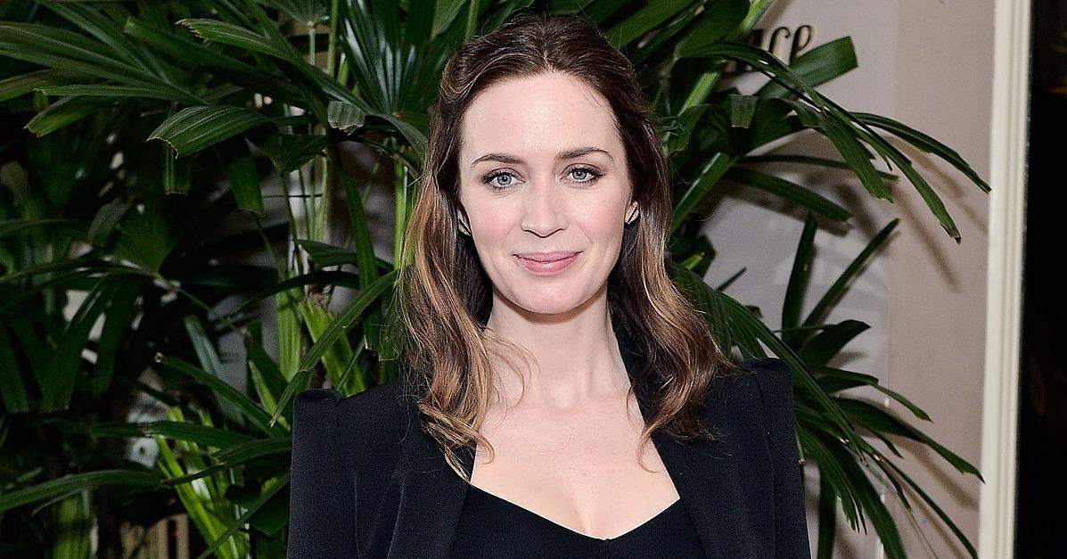 Emily Blunt Makes Her First Public Appearance Since Her Preg