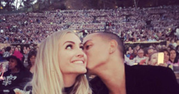 Evan Ross Makes Date Night With Ashlee Simpson a Family Affair at Diana Ross' Hollywood Concert