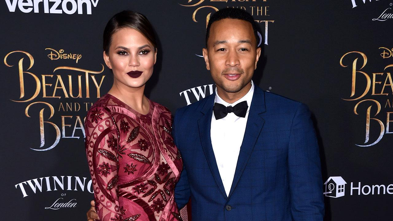 Exclusive: John Legend & Chrissy Teigen Can't Wait for Daughter Luna to Watch 'Beauty and the Beast'