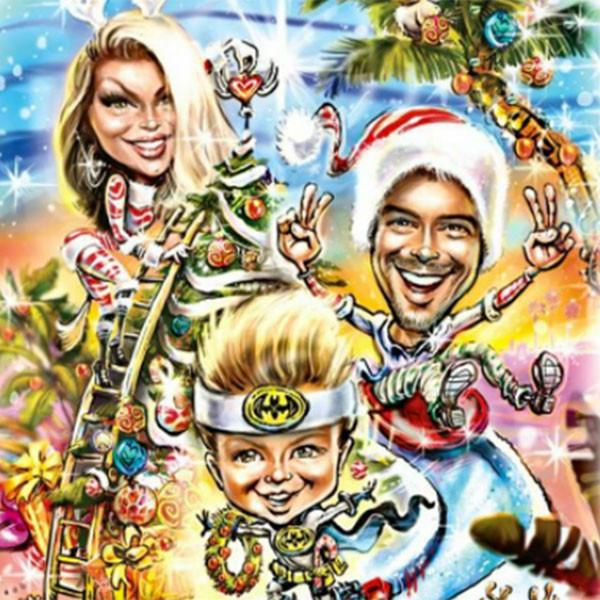 Fergie and Josh Duhamel's Christmas Card Will Likely Put Your Family's Letter to Shame