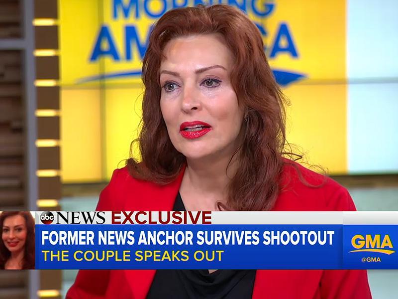 Former CNN Anchor Breaks Down as She Describes the Horror of