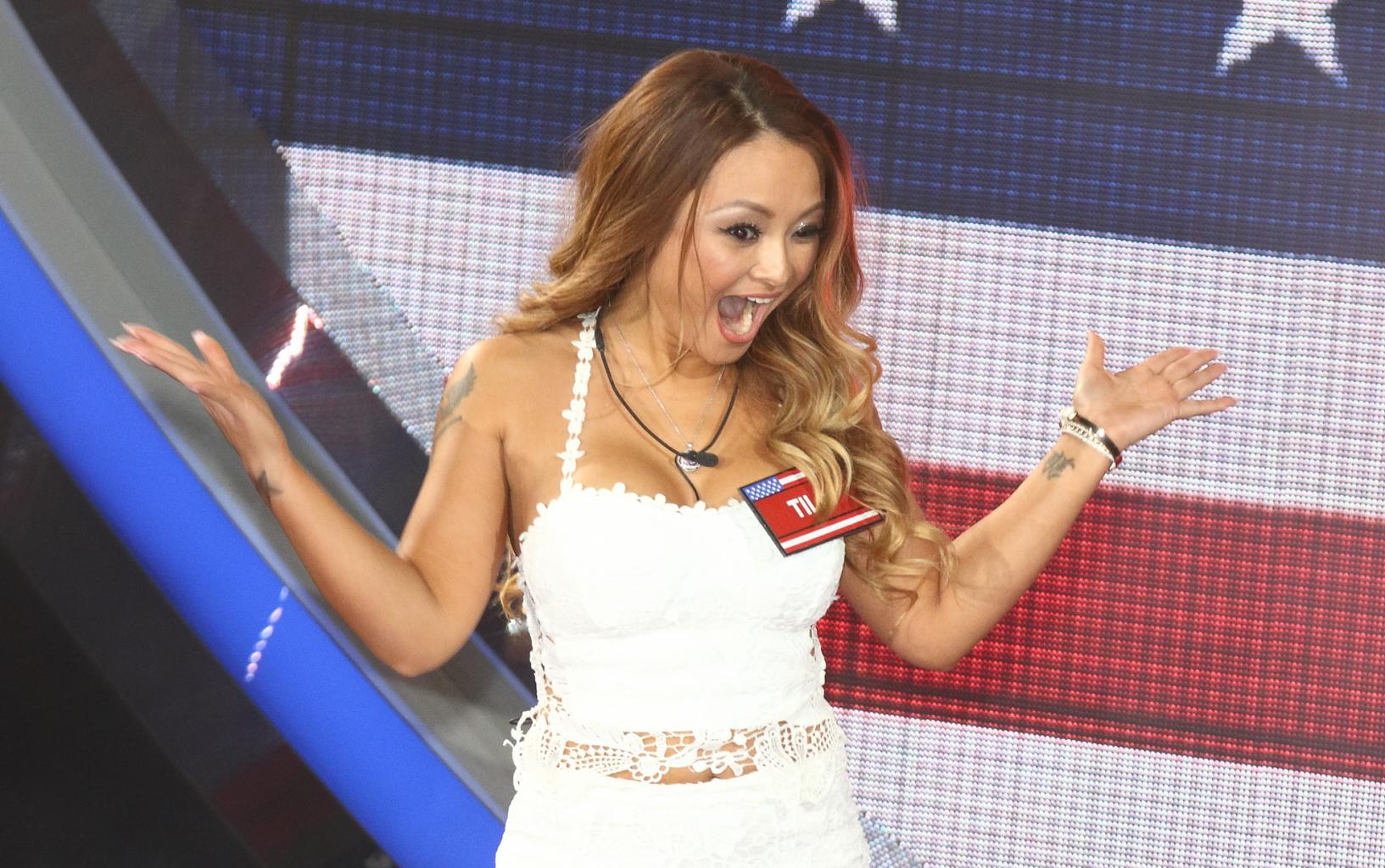 Former Reality Star Tila Tequila Banned From Twitter After Tweeting Pic Of    Sieg Heil '  Nazi Salute