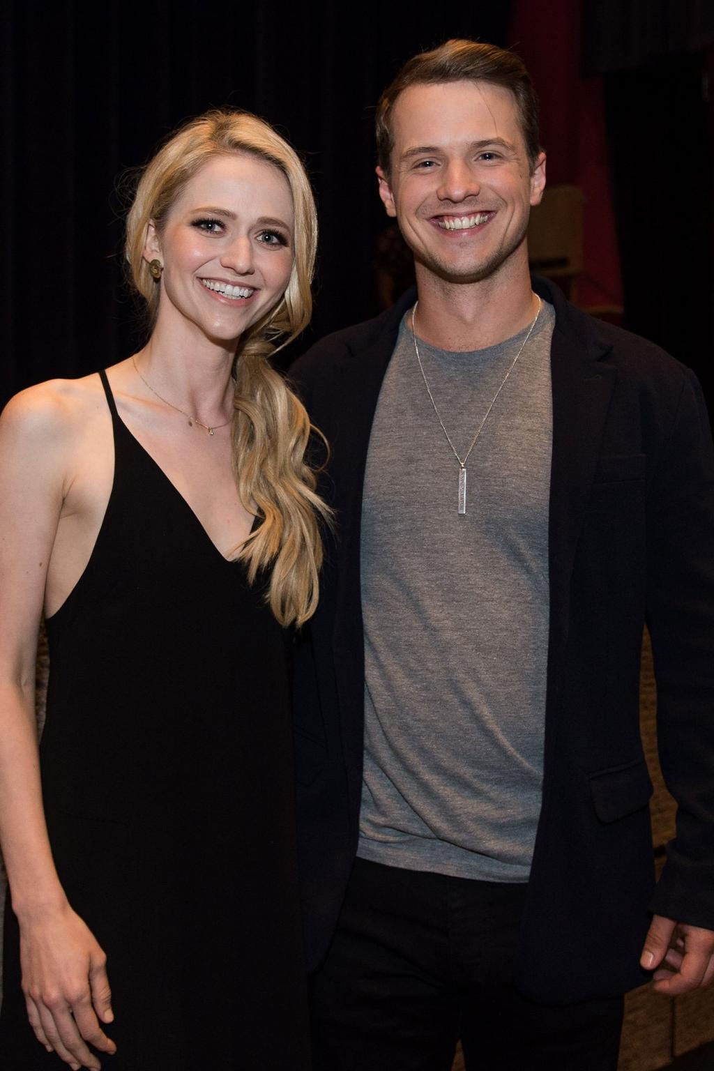Former UnREAL Costars Freddie Stroma and Johanna Braddy Are Married!