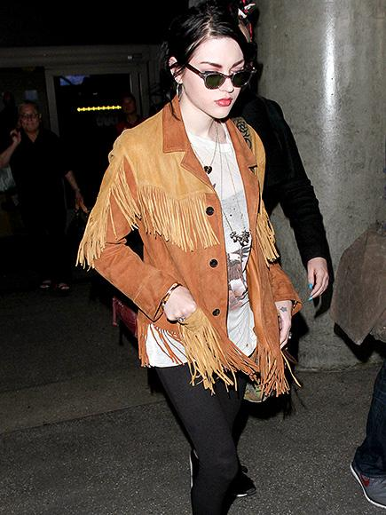 Frances Bean Cobain Spotted Out for First Time After Filing