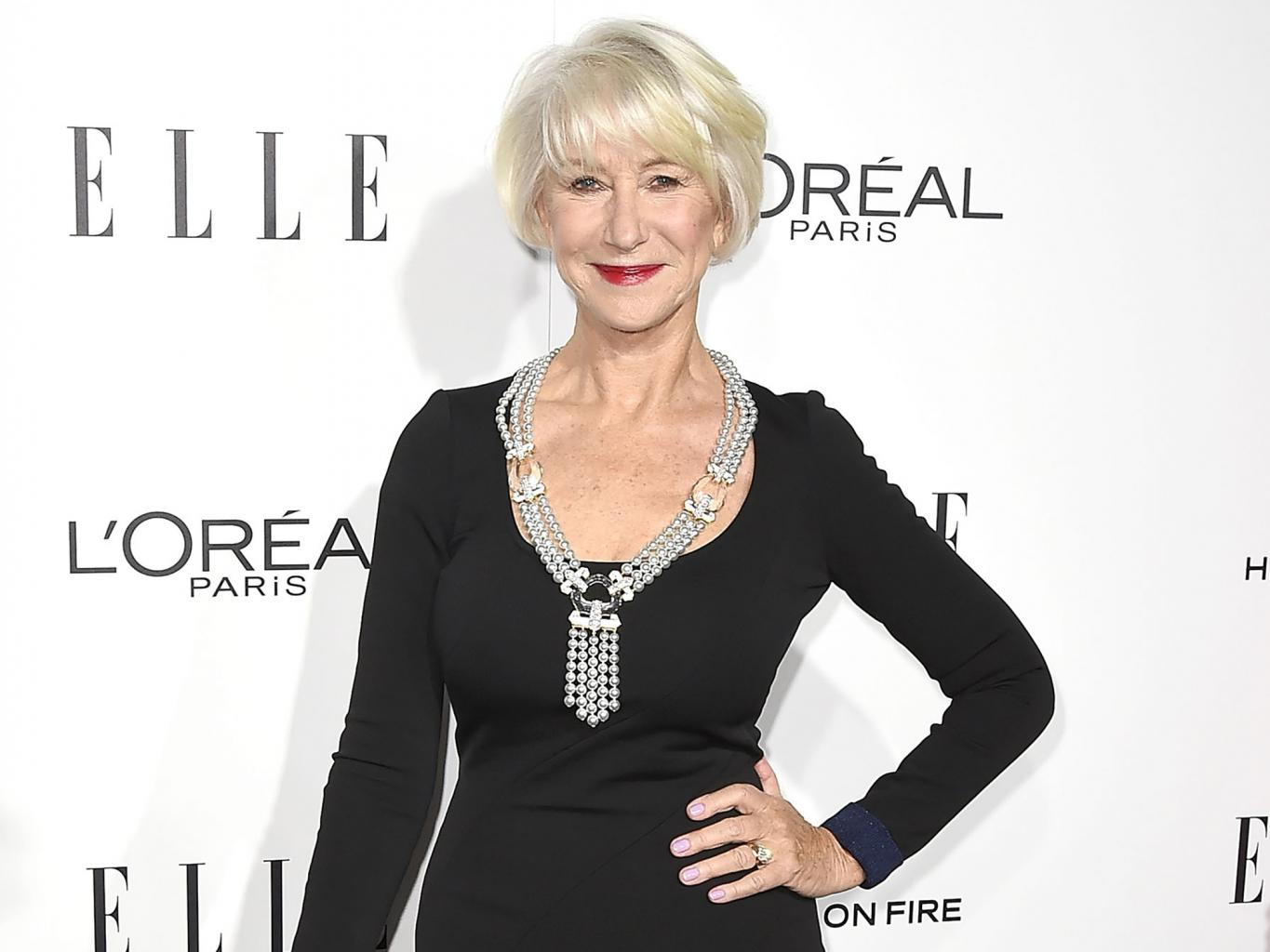Helen Mirren on Aging in Hollywood:    The Best Thing About Being Over 70 Is Being Over 70
