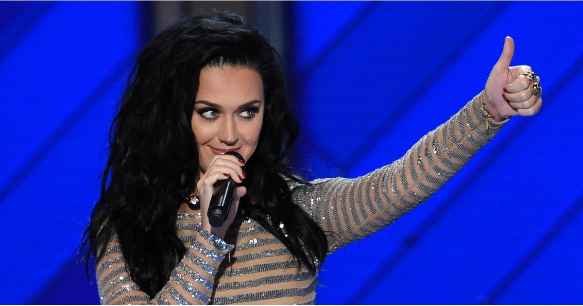 Here's Orlando Bloom Dutifully Documenting Katy Perry's DNC Performance From the Audience