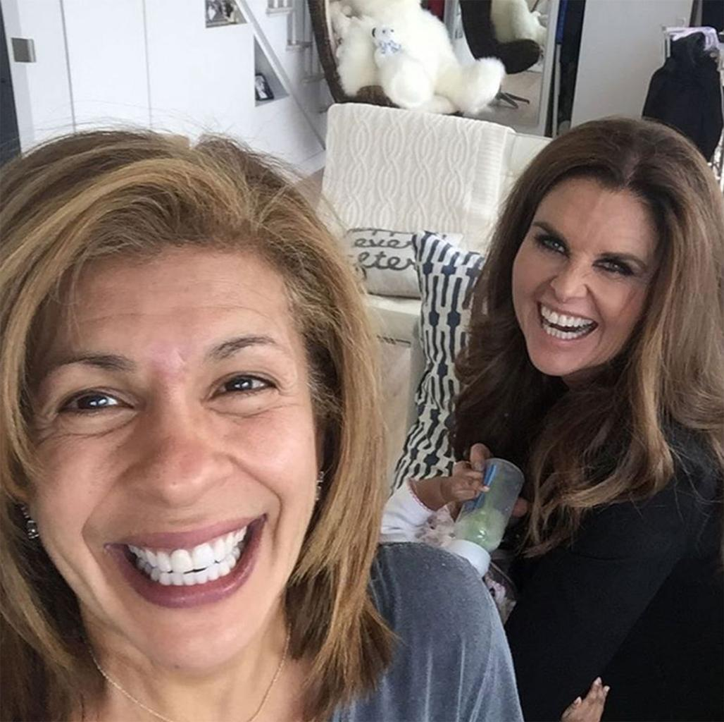 Hoda Kotb Says Her Daughter Haley Joy Was 'Mesmerized' by Maria Shriver