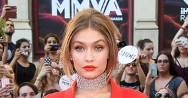 iHeartRadio Much Music Video Awards 2016 Red Carpet Arrivals: See Gigi Hadid, Lucy Hale and More Stars