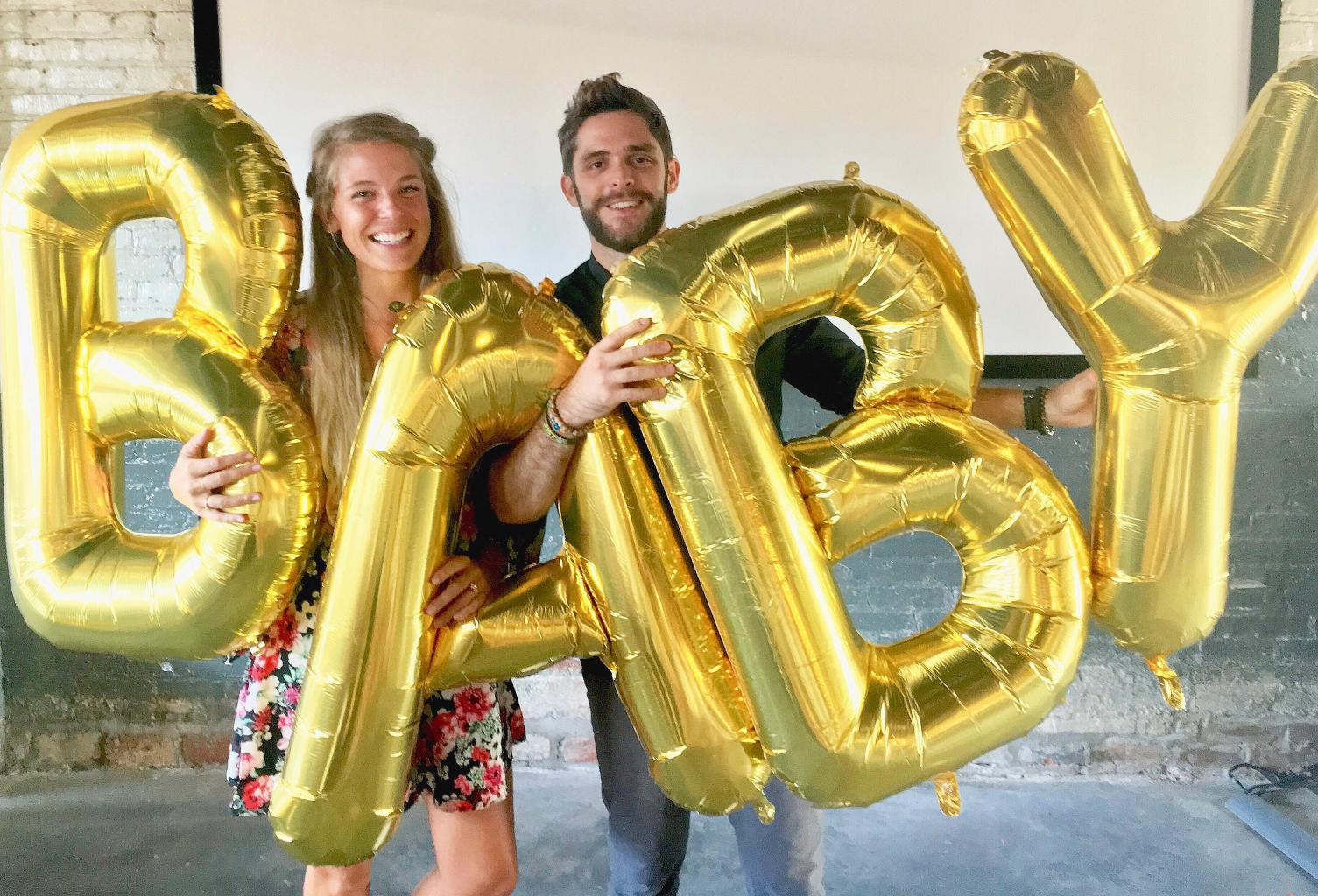 It   ll Be a Girl for Country Star Thomas Rhett and Wife Lauren