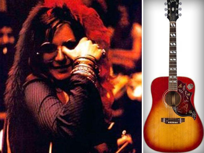 Janis Joplin -- $100k Good Enough for 'Me & Bobby McGee' Guitar