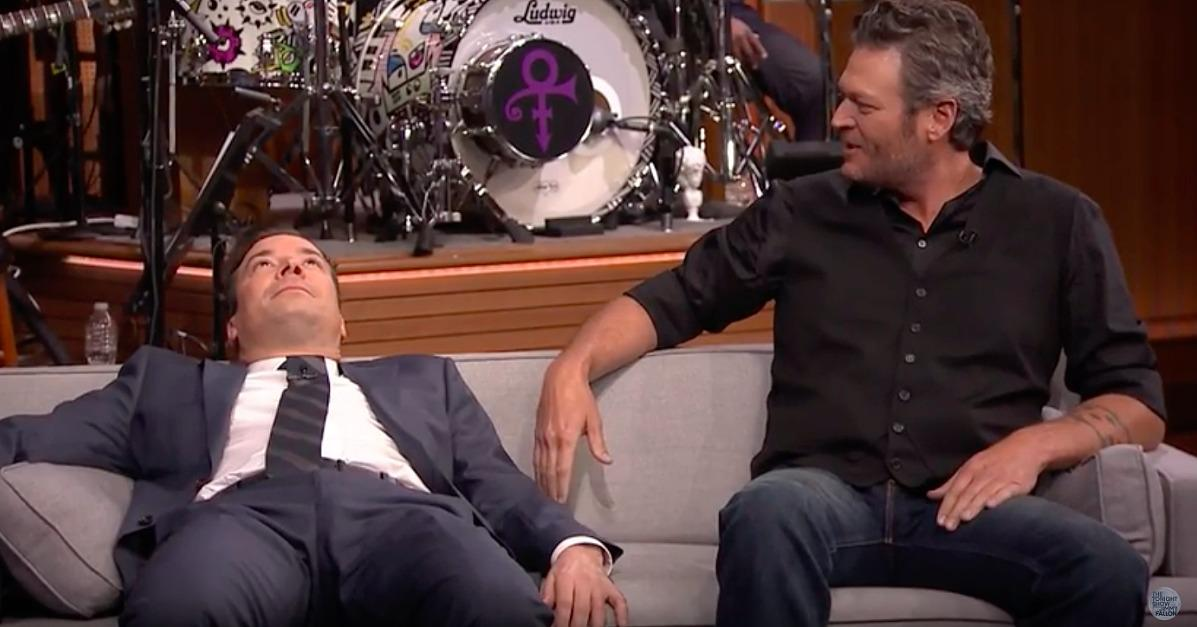 Jimmy Fallon and Blake Shelton Get Into a Huge Fight While Playing Charades, Are Basically Your Parents