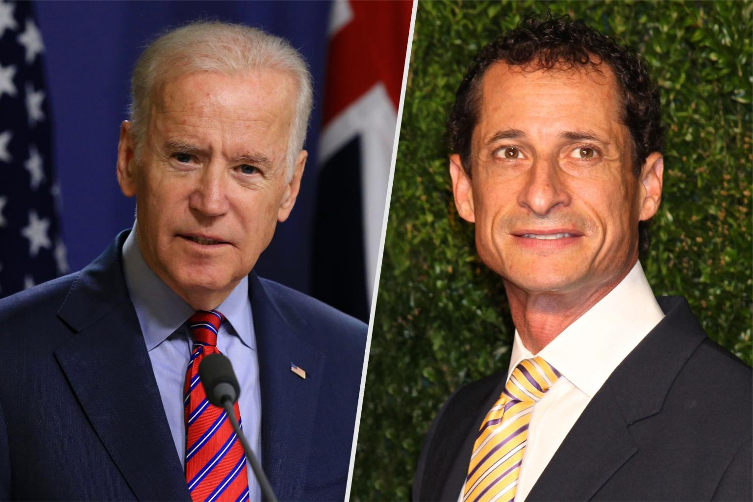 Joe Biden Weighs on Anthony Weiner: 'I'm Not a Big Fan'