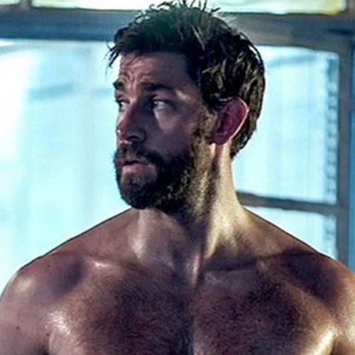 John Krasinski's Shirtless Body in 13 Hours Is Just Perfecti