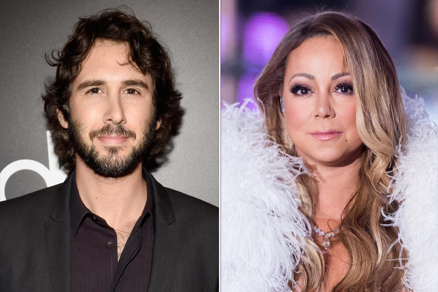 Josh Groban Deletes Tweet Joking About Mariah Carey's New Year's Eve Performance: 'Not Out to Diss Artists'
