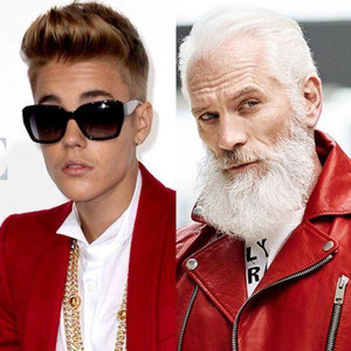 Justin Bieber and Fashion Santa Take a Swoon-Worthy Selfie