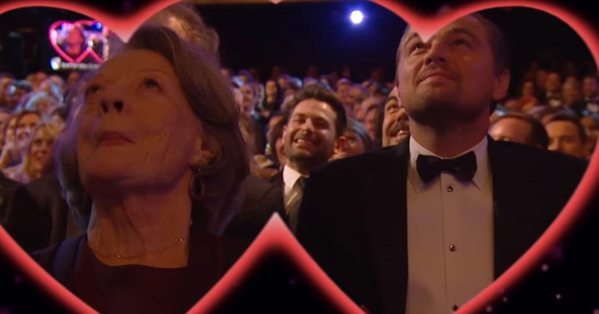 Leonardo DiCaprio and Maggie Smith Get Caught on the BAFTAs